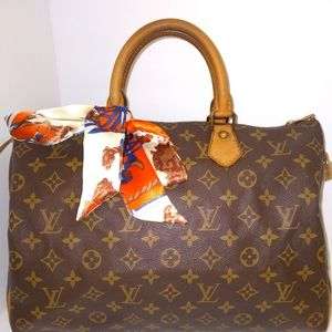 🌷Authentic Louis Vuitton Monogram Speedy 35